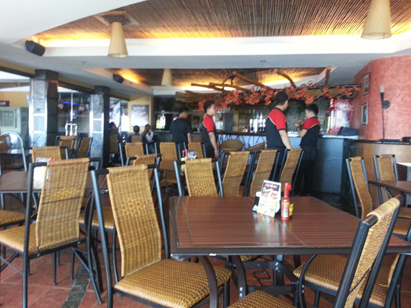 Gerry's Grill Dining Area
